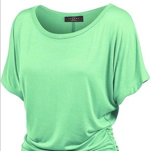 Mint Green Top by Johnny